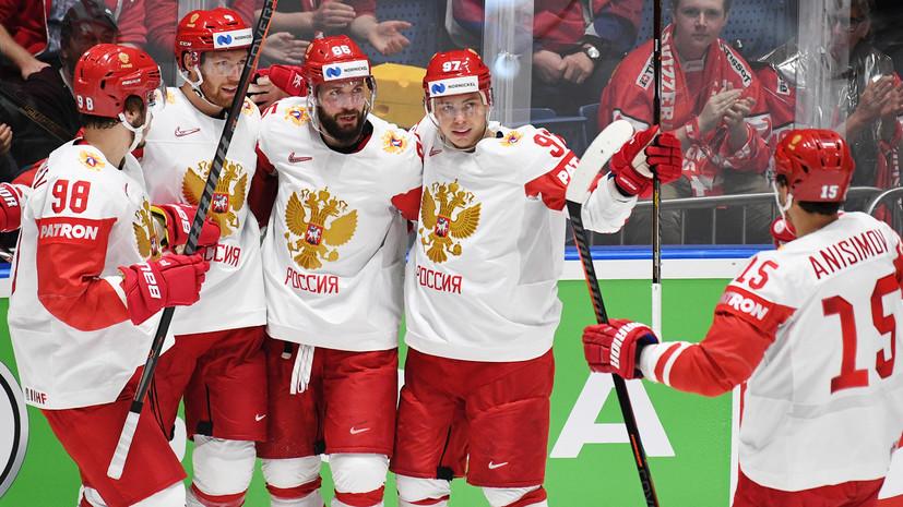 Задоров: сборная России по хоккею выйдет на матч со Швецией с боевым настроем