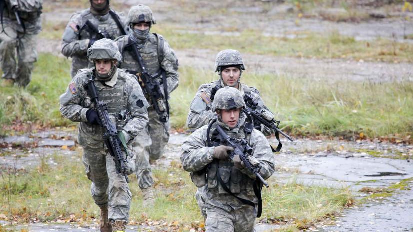 В Польше назвали сигналом России увеличение числа военных США в стране