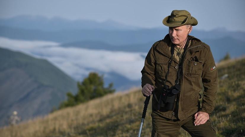 Песков рассказал, будет ли Путин отдыхать летом в Тыве