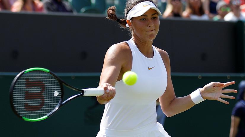 Теннисистка Вихлянцева преодолела первый круг квалификации на «Ролан Гаррос»