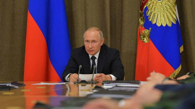 Путин напомнил Меркель и Макрону про закон о языке на Украине