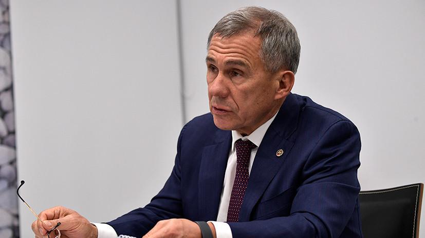 Президент Татарстана обсудил сотрудничество с министром экономики Тюрингии