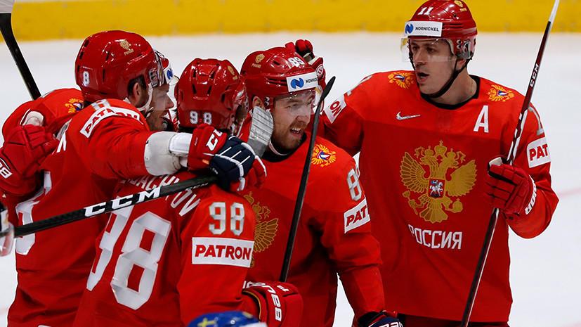 Седьмая победа России, фиаско США в матче с Канадой и сенсация от Германии: итоги 12-го дня ЧМ по хоккею
