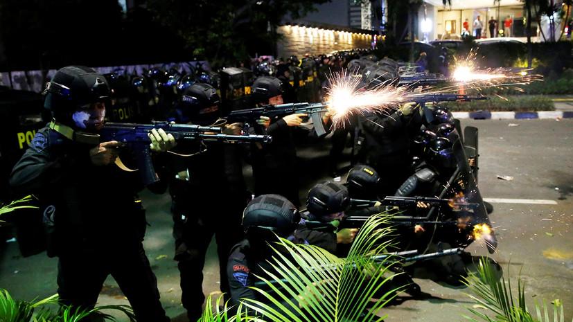 В ходе протестов в Индонезии после оглашения итогов выборов погибли шесть человек