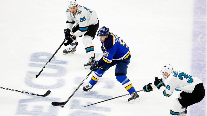 Goal Tarasenko Helped St Louis Beat San Jose And Reach The Stanley