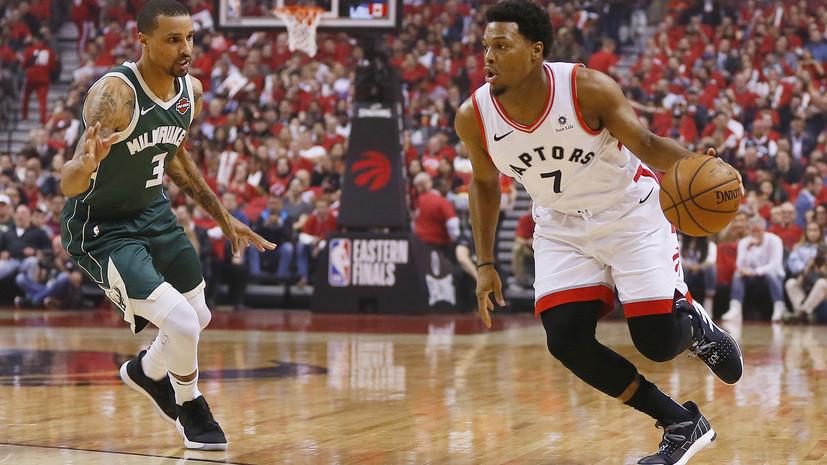 «Торонто» победил «Милуоки» и сравнял счёт в серии финала Восточной конференции НБА