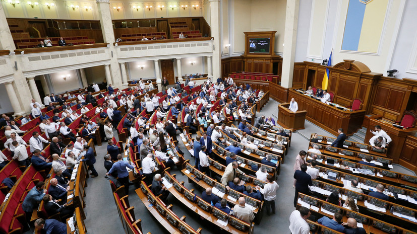 Опрос: более 70% украинцев поддерживают роспуск Рады