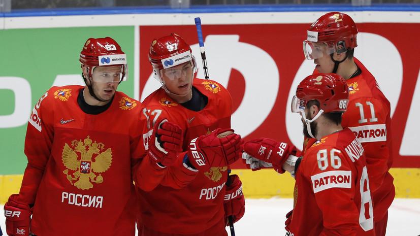 Дадонов стал пятым хоккеистом сборной России, набравшим 50 очков на ЧМ
