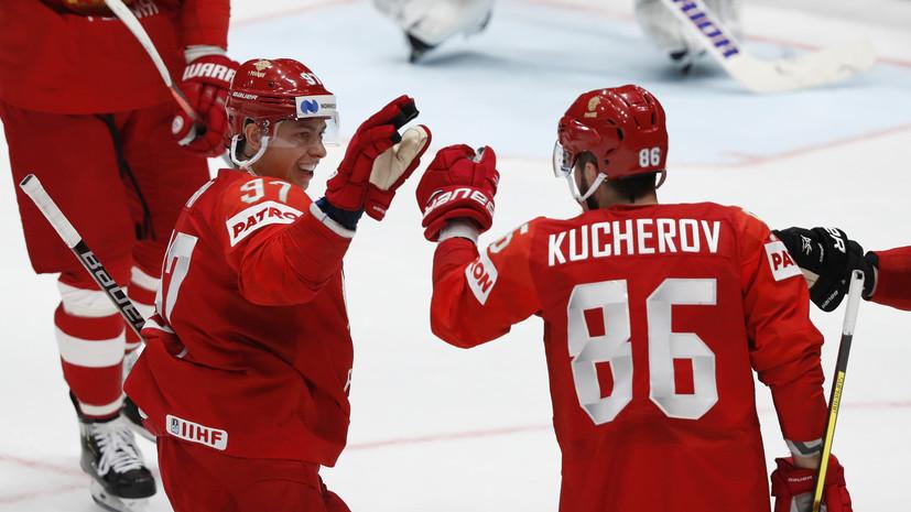 Ларионов предположил, что в России не до конца понимают уровень мастерства Кучерова