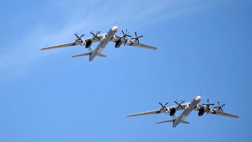 Два ракетоносца Ту-95МС вновь выполнили полёт вдоль побережья Аляски