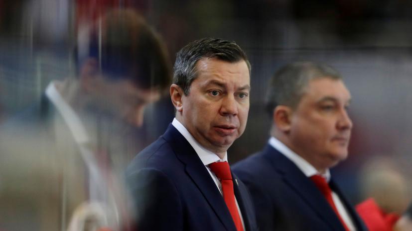 Воробьёв поделился ожиданиями от матча с командой США в четвертьфинале ЧМ по хоккею