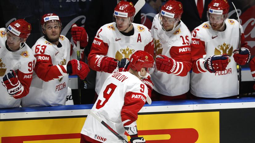 Орлов считает, что сборные России и США покажут свой лучший хоккей в четвертьфинале ЧМ