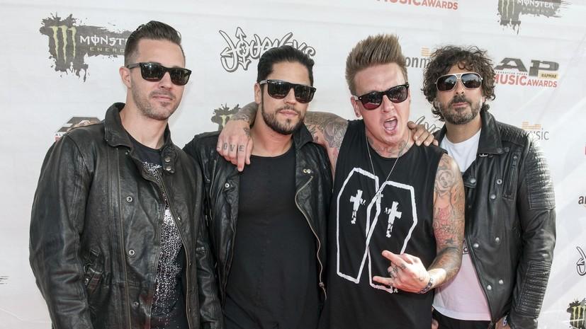 Группа Papa Roach выступит в июне в России