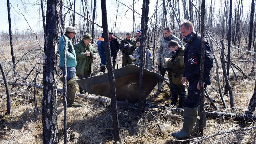 В Вилюйском улусе Якутии обнаружилисемь фрагментов ракеты «Союз-2»