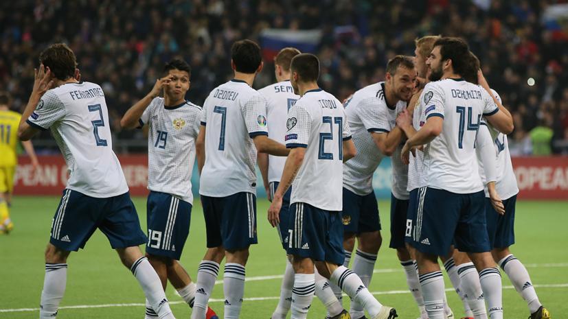 Опубликован состав сборной России по футболу на отборочные матчи ЧЕ-2020