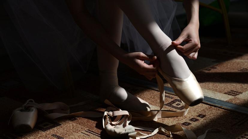 Российские балерины выступили на презентации заявки Санкт-Петербурга на ЧМ-2023 по хоккею