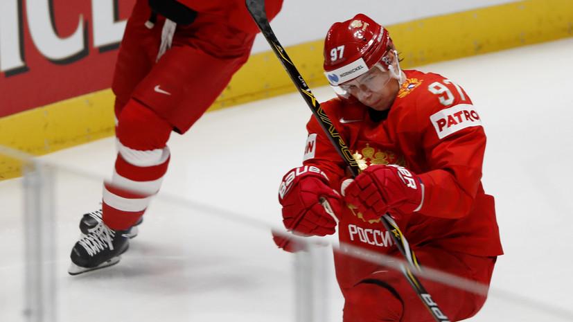 Гусев и Кучеров набрали очки в восьмом матче ЧМ-2019 подряд