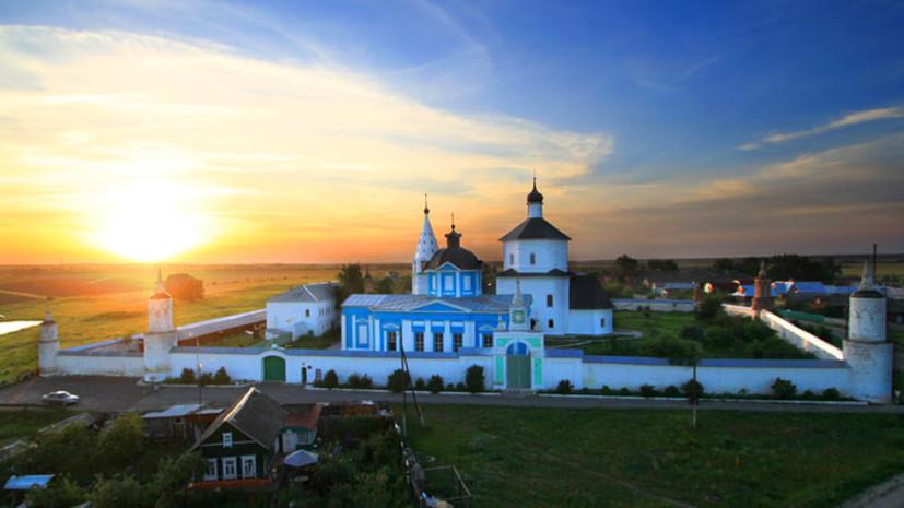 В Подмосковье планируют восстановить старинный мужской монастырь