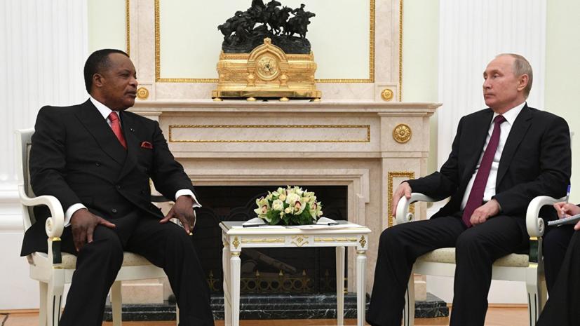 Россия направит военных специалистов в Конго