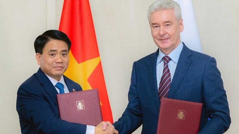 Москва и Ханой подписали программу сотрудничества