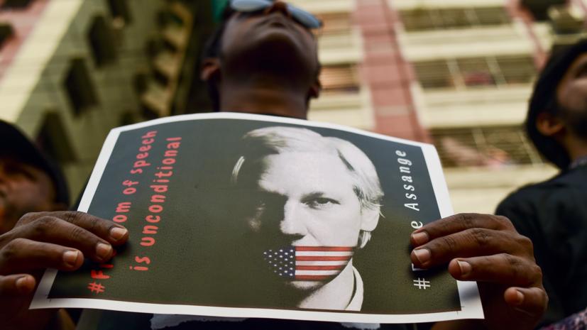 До 175 лет лишения свободы: Минюст США выдвинул 17 новых обвинений против Ассанжа