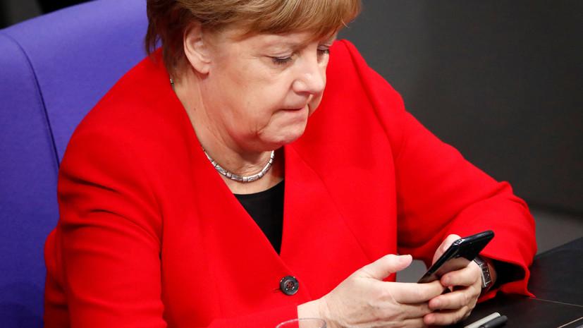 Меркель и Зеленский обсудили по телефону Минские соглашения