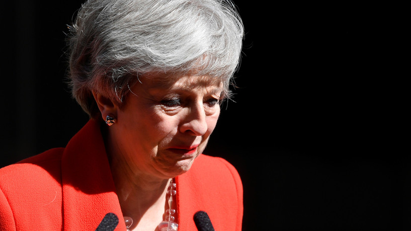 Мэй не сдержала слёз в ходе речи об отставке