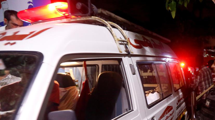 В пакистанской мечети произошёл взрыв