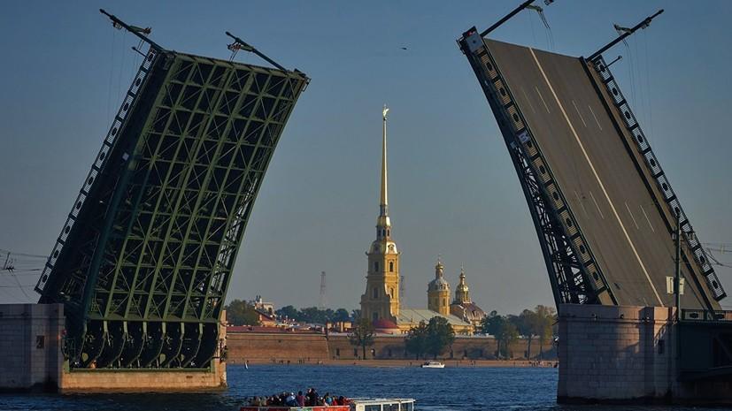 Футболист «Зенита» Ерохин поучаствовал в разведении Дворцового моста
