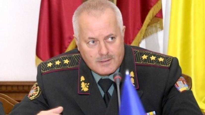 Суд в Киеве освободил подозреваемого в госизмене экс-главу Генштаба