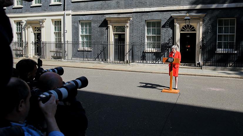 «Сложнее, чем можно представить»: к каким политическим последствиям может привести отставка Терезы Мэй