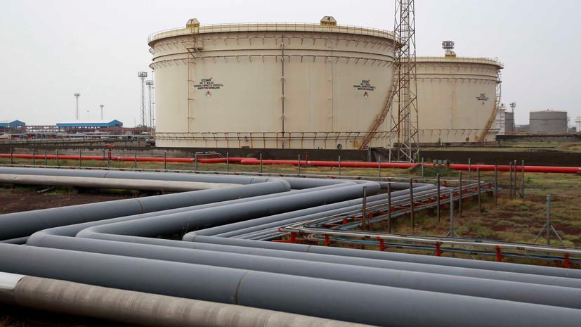 Индия сократила импорт иранской нефти