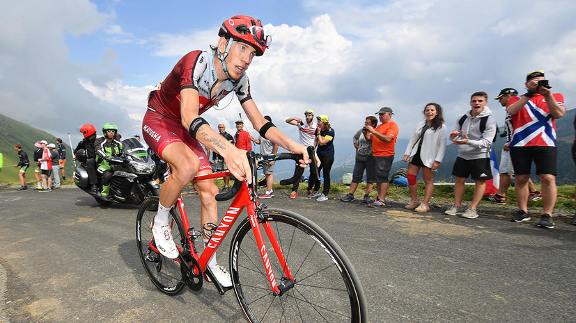 Закарин выиграл 13-й этап «Джиро д'Италия»