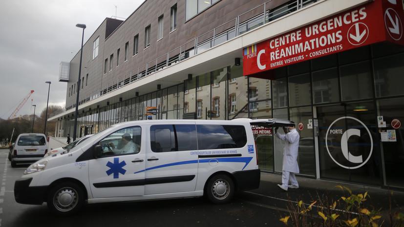 Не менее восьми человек пострадали при взрыве в Лионе