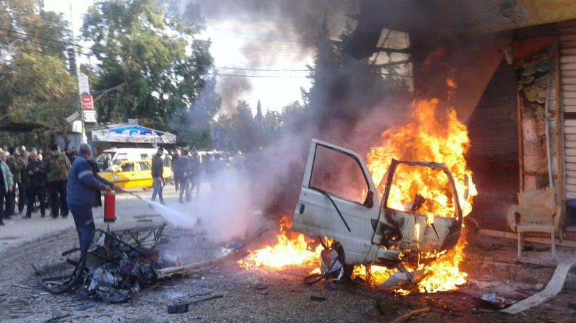 ЦПВС: боевики минируют автомобили для прорыва обороны сирийских войск