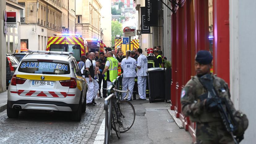 Подозреваемый в организации взрыва в Лионе попал на камеры