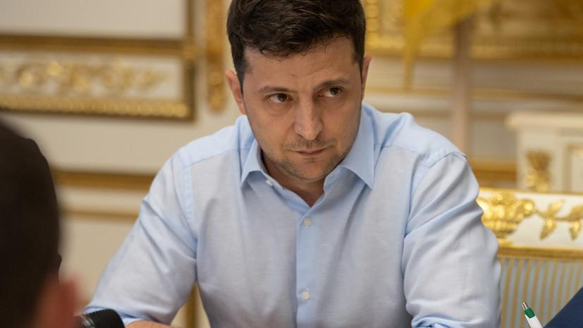 Украинские активисты подали иск в суд против Зеленского