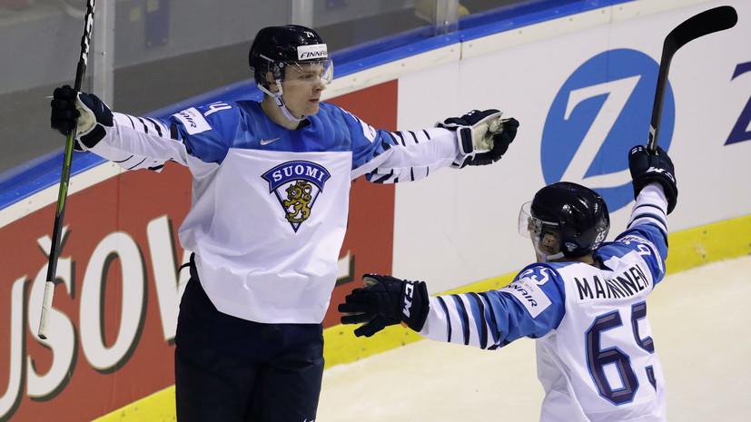 Яшин назвал форварда сборной Финляндии Какко выдающимся хоккеистом