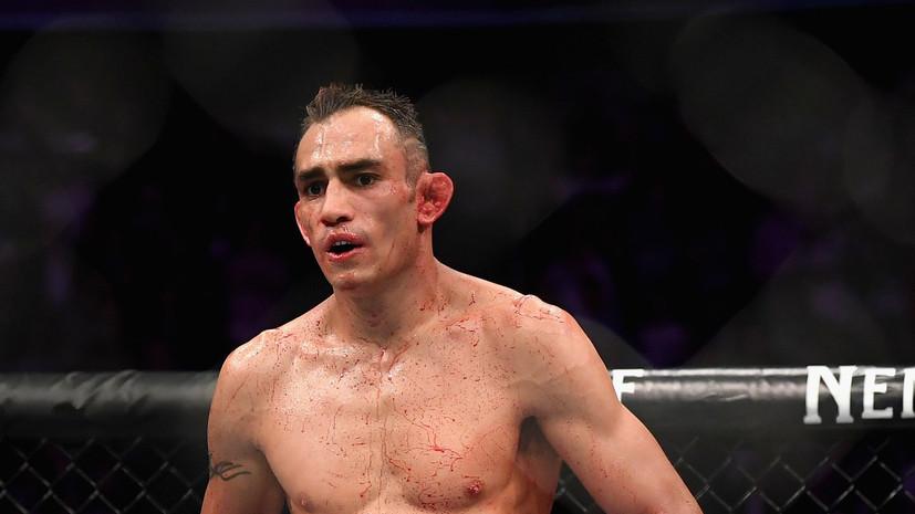 Боец UFC Фергюсон ответил на оскорбления со стороны менеджера Нурмагомедова