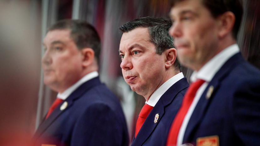 Воробьёв ответил, будет ли у игроков сборной России мотивация побороться за бронзу ЧМ-2019