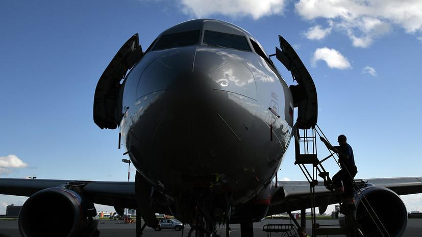 Прокуратура начала проверку из-за повреждениялетевшего в Ижевск самолёта