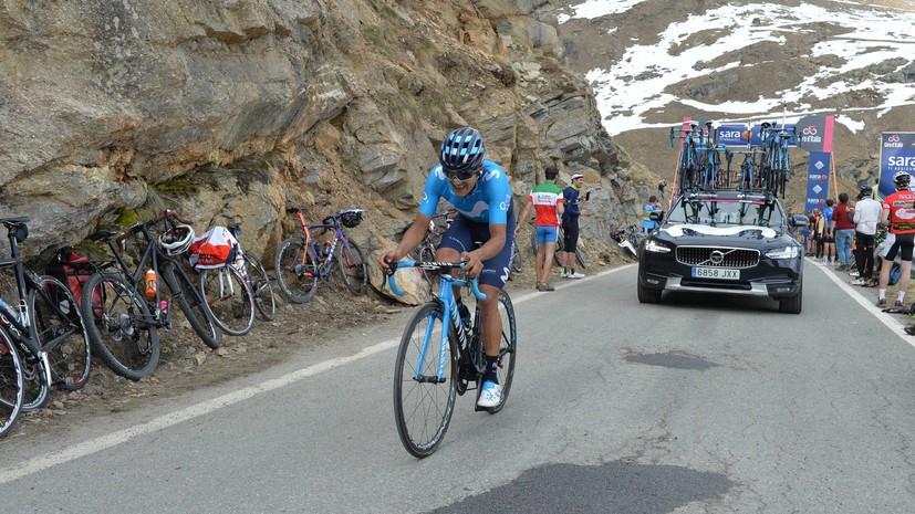 Эквадорец Карапас выиграл 14-й этап «Джиро д'Италия», Сиваков — седьмой
