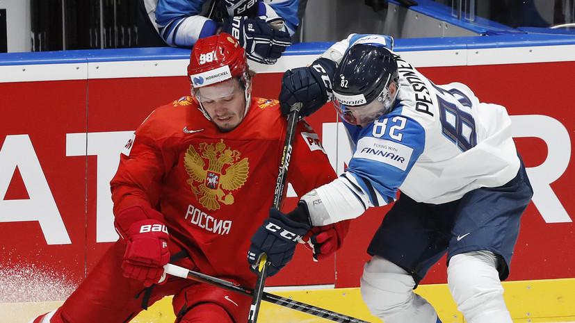 Назаров оценил работу тренерского штаба сборной России по хоккею на ЧМ