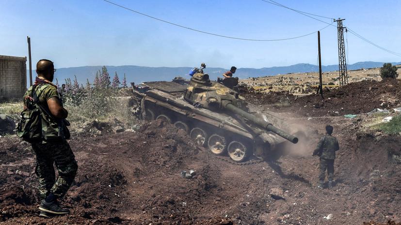 «Уничтожены танк, БМП и свыше 50 боевиков»: армия Сирии отразила наступление террористов в Идлибе