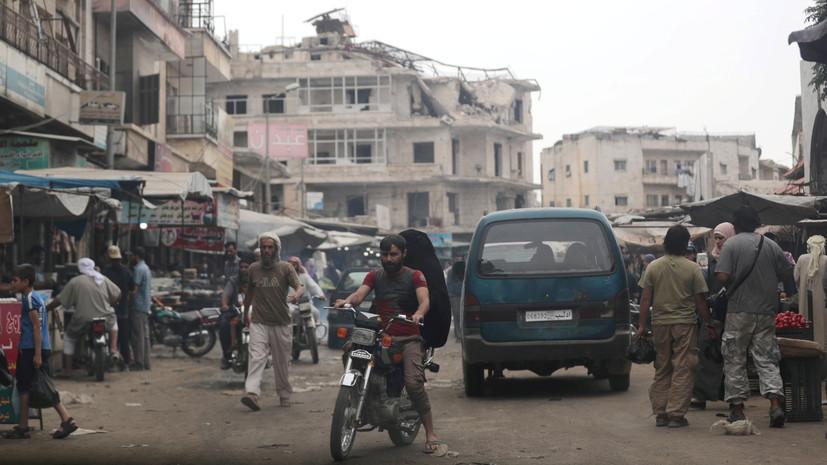 При нападении боевиков в сирийской Хаме погибли четыре мирных жителя