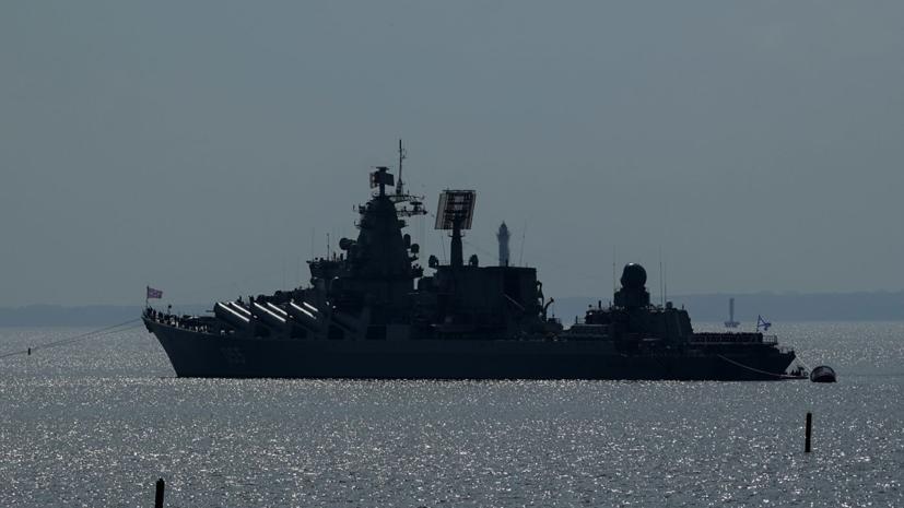 Корабли Северного флота провели учения в Баренцевом море