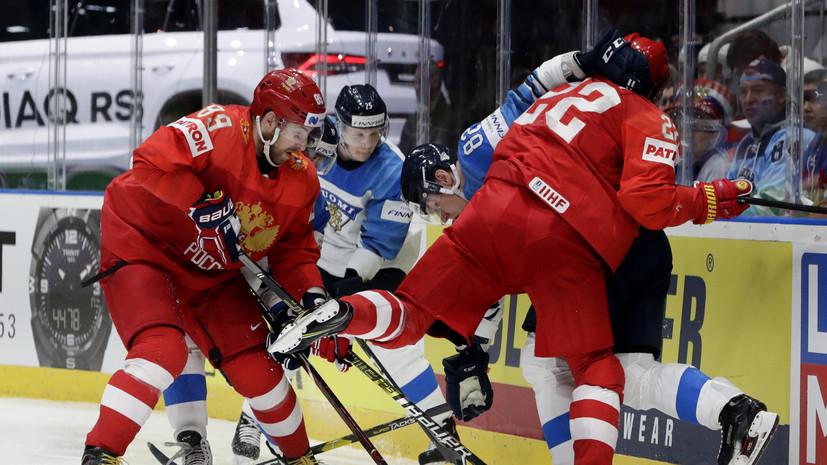 Нестеров пропустит матч за бронзу ЧМ по хоккею из-за травмы