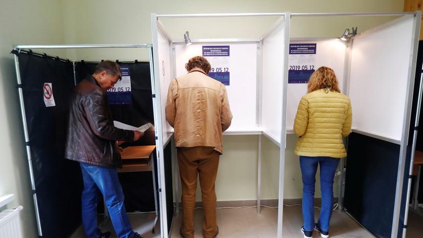 Явка на второй тур президентских выборов в Литве к 18:00 составила почти 50%