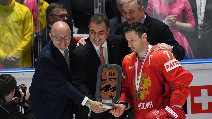 Ковальчук заявил, что у сборной России по хоккею светлое будущее