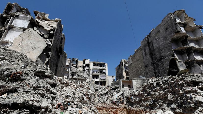 В Сирии пять мирных жителей Скальбии погибли при обстреле боевиков